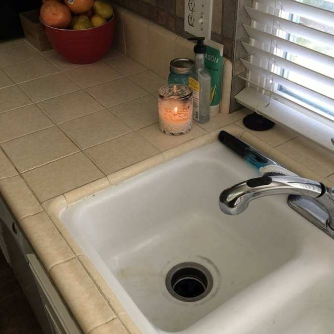 The dishes are done, man. (But don't look at the sink...that needs a really good scrubbing.)