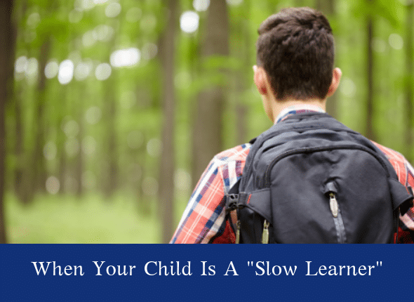 """A teacher's aide often came to assist him. When another student asked why she was always at our table, she answered, very plainly, """"Because he is a slow learner."""""""
