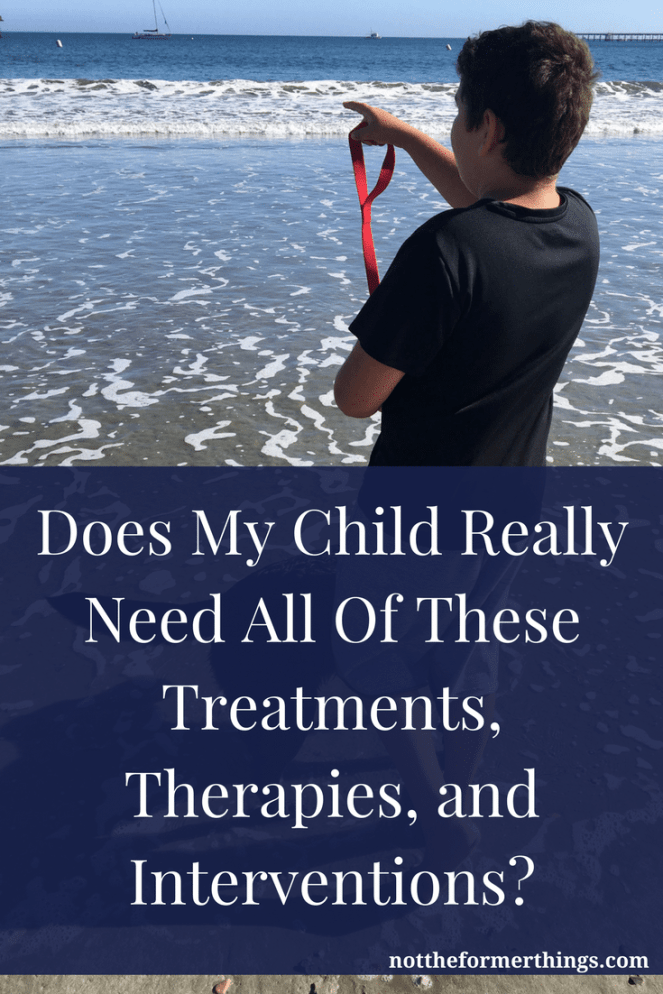 Do we need all these treatments, therapies and inventions? Austism, ADHD, anxiety disorder