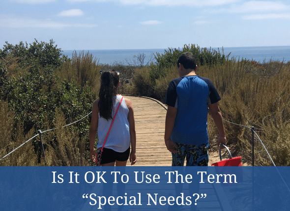 """Is It OK To Use The Term """"Special Needs"""" - #autism #specialneeds #adhd #learningdifferences"""