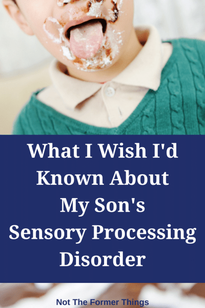 What I Wish I'd Known About My Son's Sensory Processing Disorder #sensoryprocessingdisorder #sensoryactivities