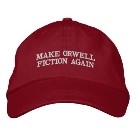 orwell maga hat