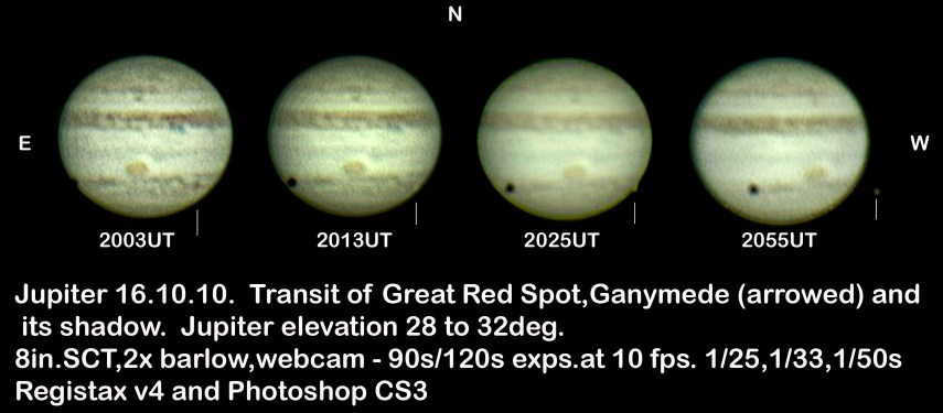 Jupiter 16.10.10 compilation (by Bryan Lilley)