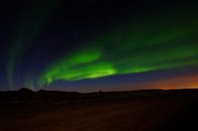 Icelandic Aurora by James and Lorraine Goss
