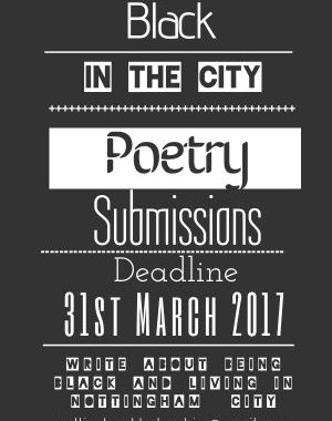 Black In The City: Poetry Anthology Call For Submissions