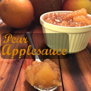 Pear Applesauce CV