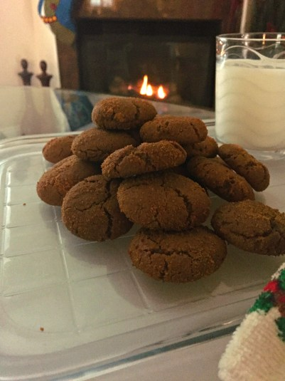 gluten free soft molasses cookies 1