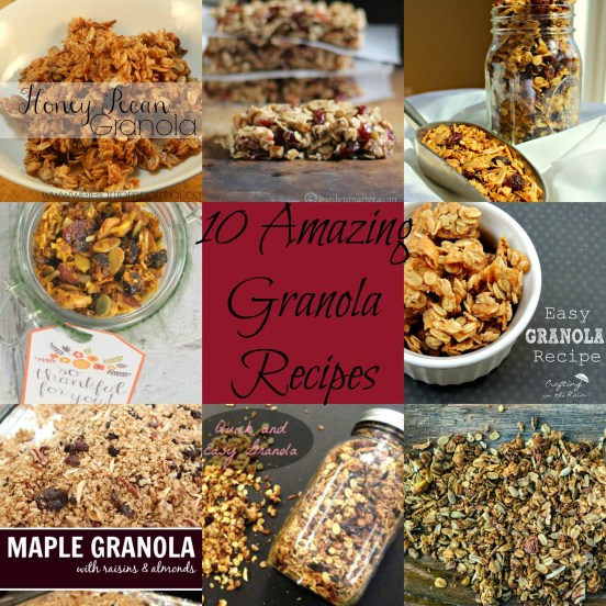 amazing granola recipes