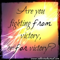From Victory For Victory {Part 1}