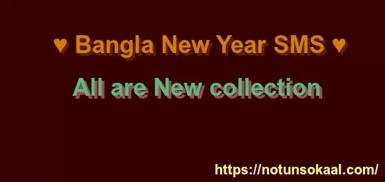 Bangla New Year SMS 2019(বাংলা নিউ ইয়ার এসএমএস ২০১৯)