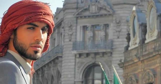 Omar Borkan expulsado de Arabia Saudita por ser guapo