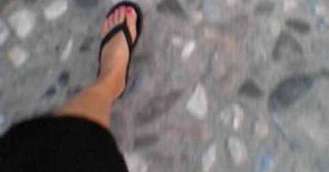mujer caminando cancer mama