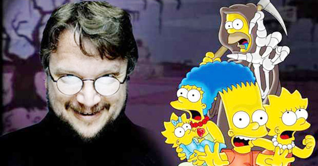simpsons guillermo del toro