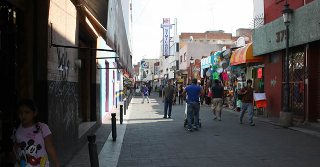Foto archivo, Zona centro de Pénjamo