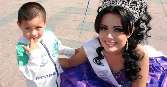 La joven Andrea Paz ha puesto en alto el nombre de Cuerámaro Foto tomada de facebook