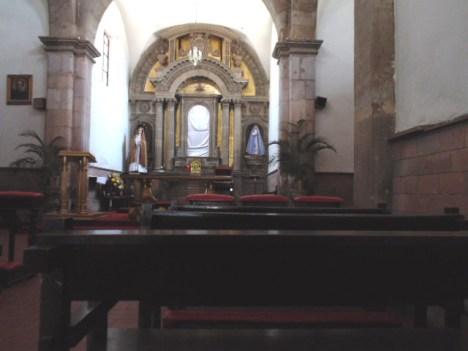 Templo de Ntra. Sra. de la Soledad (Butacas)