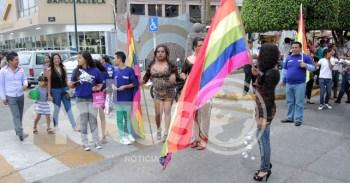 Marcha contra la homofobia y discriminación