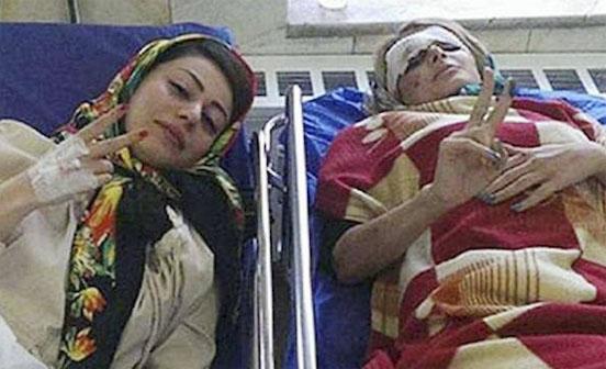 selfie mujeres hospital