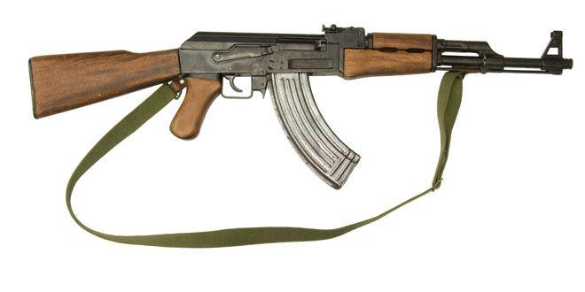 AK47 rifle usado en balacera Foto Ilustrativa