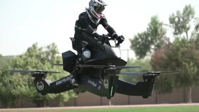 Photo of En motos voladoras patrullaran Dubái: Hoverbike