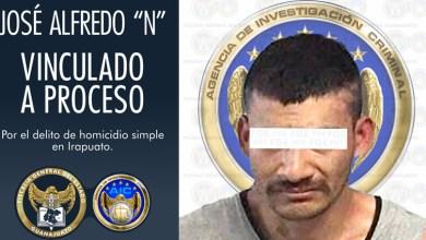 """Photo of Inculpado de homicidio en Irapuato, José Alfredo """"N"""" es vinculado a proceso"""