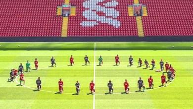 Photo of La foto del Liverpool en contra del racismo que recorre el mundo