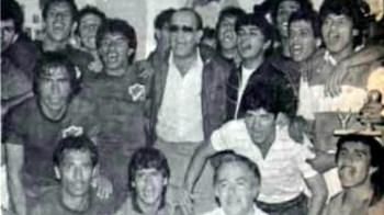 El presidente de Irapuato en ese entonces Sebastían Martínez fue a felicitar a los jugadores.