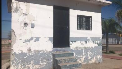 Photo of Caseta de policía abandonada en una comunidad abandonada