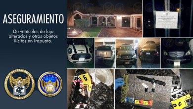 Photo of Catean vivienda en Villas de Irapuato para asegurar vehículos de lujo alterados y objetos ilícitos
