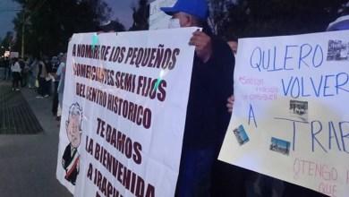 Photo of Madrugan comerciantes del Centro Histórico para apoyar a AMLO