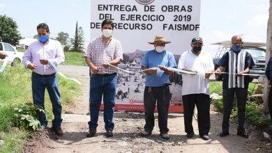 Photo of Entregan obras de drenajes en Cabecera Municipal