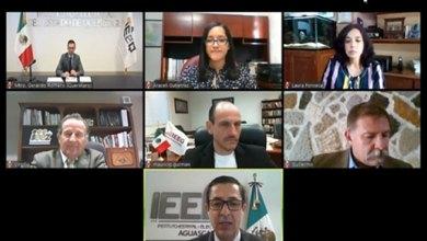 Photo of Firma IEEG Convenio Regional de Colaboración entre los OPLE