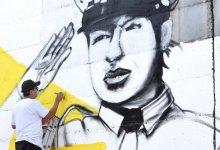 Photo of Elaboran mural para agradecer a quienes combaten el coronavirus