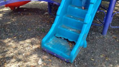 Photo of Otra vez, destruidos juegos en parque de la Benito
