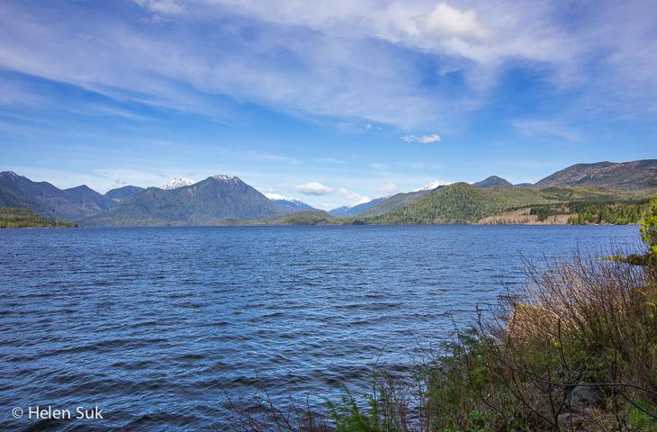 kennedy lake bc, road trip bc