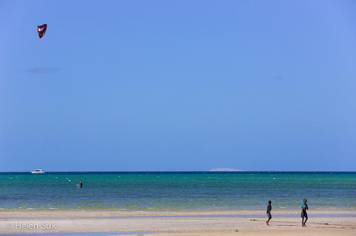 kitesurfing vilanculos, mozambique tourist attractions