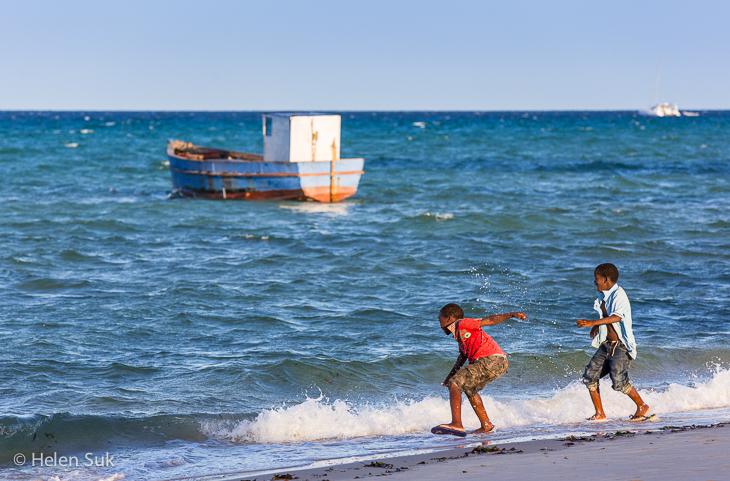 vilankulos, mosambique, mosambiek, beach