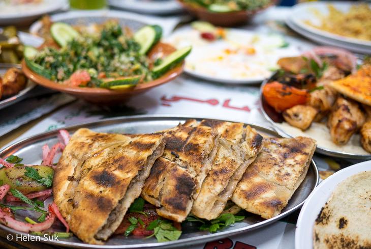 jordan food, aqaba