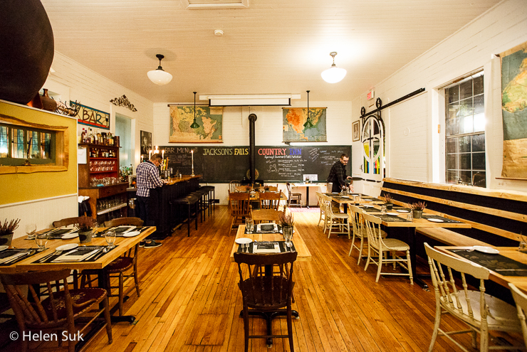 public school house restaurant at jacksons fall country inn in milford