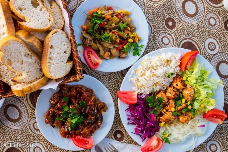 turkish food in selcuk