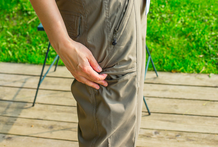 marks mosquito repellent pants made of permethrin