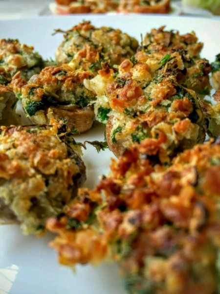Crispy Baked Mushrooms
