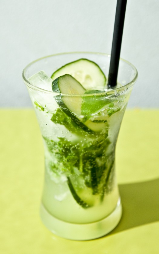 Mint, Basil, Cucumber & Lime Fizz