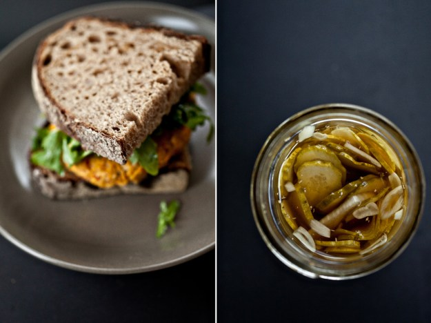 White bean burger with rosemary and sun-dried tomatoes - Not Without ...