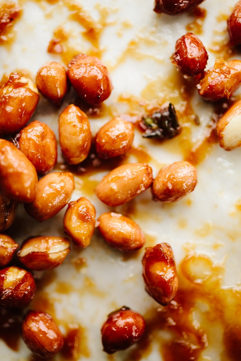 Sweet & Spicy Peanuts // Not Without Salt