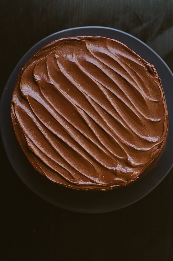 Chocolate Birthday Cake // Not Without Salt