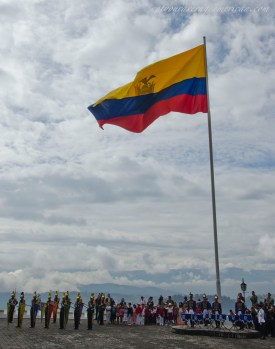 The Ecuadorian Flag in full glory.