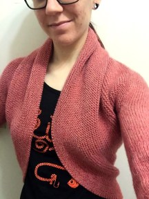 not your average crochet - maeve shrug