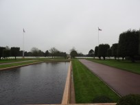The American Cemetery in Normandy - 25,000 graves.