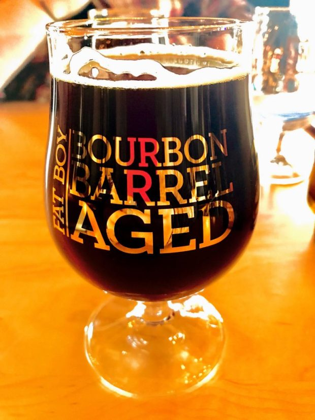 Fat Boy Bourbon Barrel Aged Porter